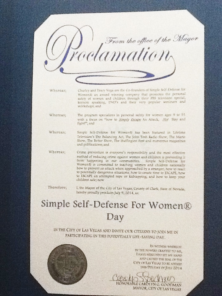 about us simple self defense for women
