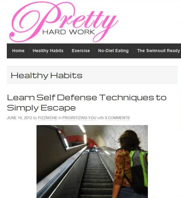Pretty Hard Work Simple Self Defense for Women