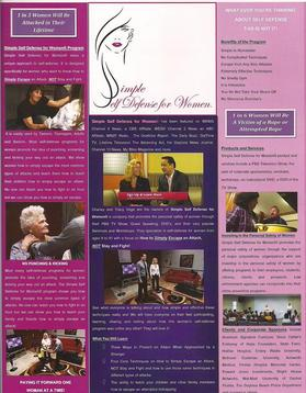 Brochure Simple Self Defense for Women